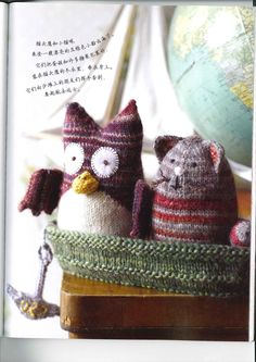 35 Knitted Toy Tales