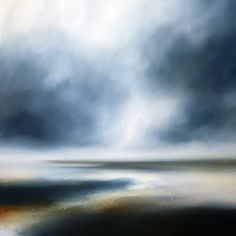 Paul Bennett - Seascape, Landscape, Abstract and Portrait Artist Abstract Landscape Painting, Watercolor Landscape, Landscape Art, Landscape Paintings, Wine And Canvas, Abstract Pictures, Ocean Art, Painting Frames, Canvas Wall Art