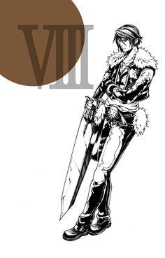 Final Fantasy VIII - Squall