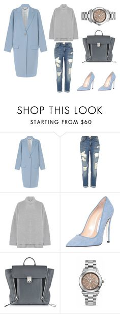 """Цветотип Лето"" by trend-brand ❤ liked on Polyvore featuring moda, Jigsaw, River Island, Rochas, Off-White, 3.1 Phillip Lim ve Salvatore Ferragamo"