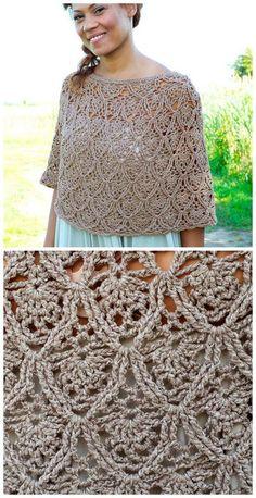 easy crochet fuji aran pattern