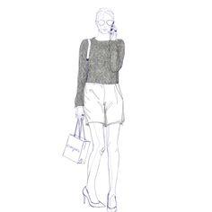 Claudia Civit, Fashion Design student at IED, reinterprets the Cabinet de Curiosités by Escorpion #fashion #moda #design  #escorpion #escorpión #moda #punto #fashion #knit #knitwear #080bcn #080barcelona #080bcnfashion #080barcelonafashion #080 #barcelona #fashion #spring #summer #2015 #sweater #jersey #verano #primavera #15 #ss15