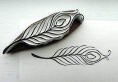 Peacock feather by lemonadesun on Etsy, $15.00
