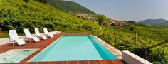 Agriturismo Due Carpini | Valdobbiadene | Treviso | Casa Salis, The Prosecco Room...2 nights of tranquility drinking Prosecco