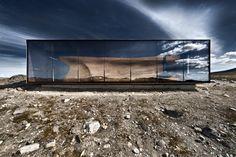 Tverrfjellhytta, located at Hjerkinn, Norway by... | Architecture~Design~Interiors~Exteriors