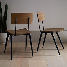 Slope Leg Dining Chair - west elm