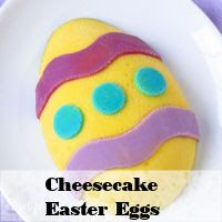 Handpainted Cheesecake Easter Eggs For years I have been painting candy molds with brightly colored white chocolate and wondered if the same artistic technique could work with colorful cheesecake filling. It does! In the past, I've successfully used shaped silicone molds to create Conversation Heart Cheesecakes, Rainbow Cheesecake Hearts, and Cheesecake Leaves and Pumpkins. While …