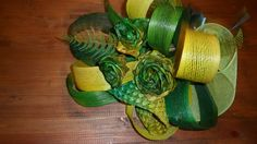 ******* Ready made and for sale ******* Flax Weaving, Flax Flowers, Cactus Plants, Bouquet, Bear, Culture, Maori, Linen Fabric, Cacti