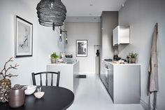 Mooie Scandinavische keuken afgewerkt met oog voor detail