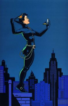 Catwoman by Jaime Hernandez