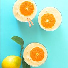 Some smoothies can be too filling, but this one, made with two kinds of citrus and Greek yogurt, tastes light and refreshing.