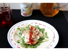 Chicken and hot chilli jam wraps
