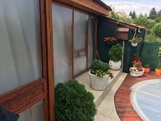 Patio, Outdoor Decor, Plants, Home Decor, Yard, Porch, Terrace, Planters, Home Interior Design