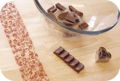 How to Use Chocolate Transfer Sheets