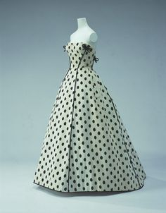 Evening gown, Jacques Fath, circa 1953