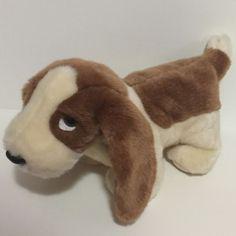 9c1bf26becc TY Beanie Buddy Tracker Basset Hound Plush Stuffed Animal Soft 14