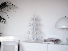 Tree24 reusable advent calendar - Acrylic  www.beandliv.com #design #homedecor #acrylic