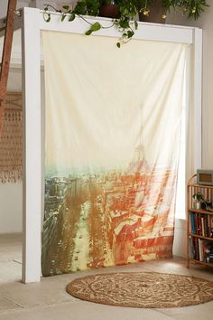 Alicia Bock Paris Scene Tapestry - Urban Outfitters #UOonCampus