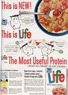 Life cereal was first introduced in 1961