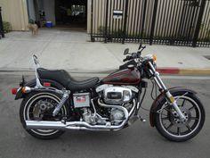 1979 Harley Davidson FXS Lowrider original paint