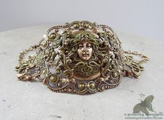 Art Nouveau Goddess Series  Medusa the by EnchantingAdornments, $45.00