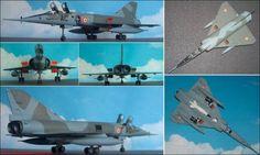 """Dassault-Breguet """"Mirage IVA"""" Bomber (Heller 351) 1:72"""