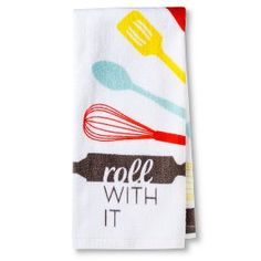 Attractive Room Essentials™ Roll With It Printed Terry Kitchen Towel $2.50 Target