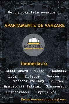 Apartamente de vanzare Bucuresti   pagina cu toate ansamblurile noi de blocuri, din portofoliu, pe imoneria.ro. Titanic, Movie Posters, Houses, Film Poster, Billboard, Film Posters