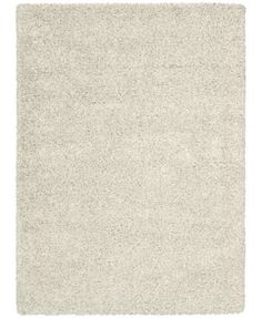 Shop For Nourison Amore Cream Shag Area Rug 5 3 X 7 5