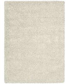 """Kenneth Mink Plush Shag Bone 7'10"""" x 10'10"""" Area Rug"""