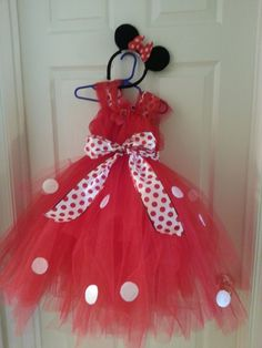 tutu dress tutorial | DIY Minnie Mouse Tutu Dress | WHAT SHAUNA KNOWS