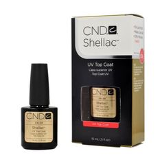 CND Shellac TOP COAT Gel UV Nail Polish 0.5 oz Manicure Soak Off Pedicure 1/2 ** Find out more about the great product at the image link.