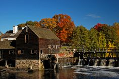 "Watermill of Phillipsburg Manor -- ""The Legend of Sleepy Hollow"" #20"