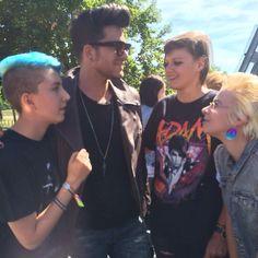 08/26/15 Adam Lambert in Germany