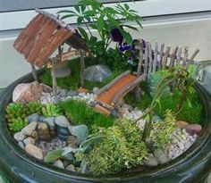 fairy garden ideas - Yahoo! Image Search Results