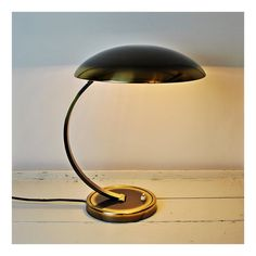 Vintage Bauhaus Christian Dell - Kaiser Idell Modell 6751 Table Lamp | Desk Lamp