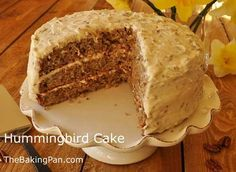 Hummingbird Cake Recipe