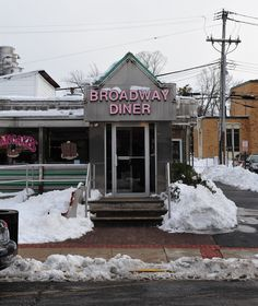 Broadway Diner, Red Bank, NJ. They have the best french fries with gravy EVUH! :)