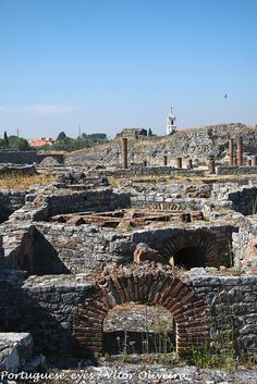 Ruínas Romanas de Conímbriga - Portugal by Portuguese_eyes, via Flickr