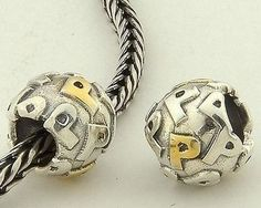 CLLE03SP 925 Sterling Silver Alphabet letter P Pandora Charms beads Pandora Letters