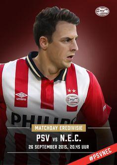 MATCHDAY! The kick-off of PSV vs N.E.C. is at 8.45 pm. Good luck boys! #psvnec