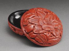 Chinese seal container for paste.