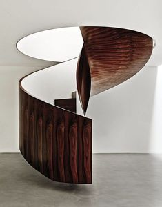 Wooden Snail Stairs