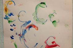 Tracing the letter C with fingerpaint Letter C, English Alphabet, Tot School, Finger Painting, Initials, Activities, Future, Projects, Log Projects