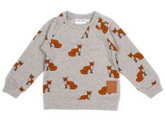 Mini Rodini, Fox Sweatshirt, FREE Global Shipping 175+