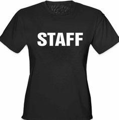 Staff Girl's T-Shirt
