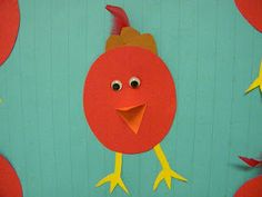 Little Red Hen or bird craft