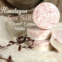(could mix this with sakura petals and adzuki beans for an adorable Japanese themed set!) Pink Salt and Shea Bath Bar.
