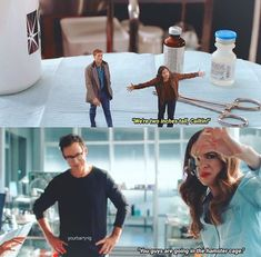 Omg this episode was so funny. The Cw Shows, Dc Tv Shows, O Flash, Flash Arrow, Supergirl Dc, Supergirl And Flash, Justice League Show, Dc Comics, Flash Funny