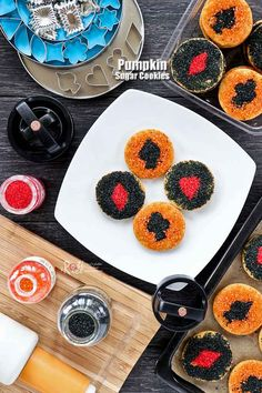 These soft, lightly spiced Pumpkin Sugar Cookies with colorful sprinkles are a delicious way to enjoy the Fall flavors. Also, great for a Fall themed party. I am not much of a cookie decorator but once in a while I feel an urge to do something fun and creative with cookie dough. Since I already …